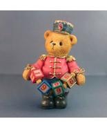 Cherished Teddies Jeffrey Figurine Striking Up Another Year 1996 Retired - $24.21