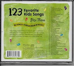 123 Favorite Kids Songs Disc 3 Cd image 2
