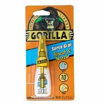 Gorilla glue Super Glue with Brush & Nozzle Applicator, 0.35 oz, Clear (... - $9.59