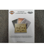 2005 Harley Davidson Technical Literature List Service Shop Manual OEM BOOK 05 - $7.87