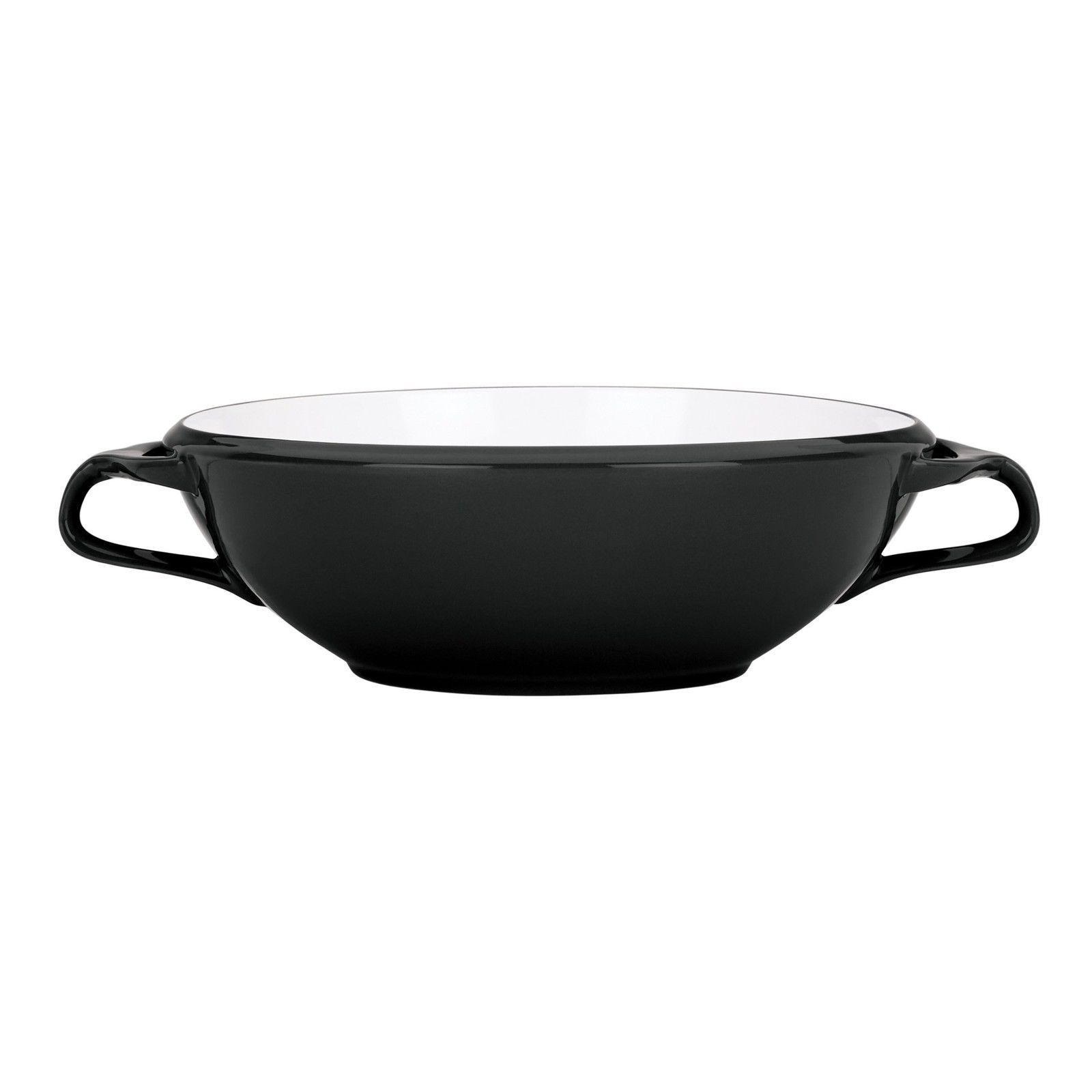 Dansk Kobenstyle Handeled Serving Bowl, Black