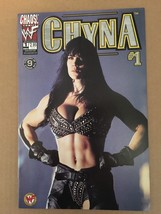 Chyna #1 Chaos WWF WWE DIVAS Comic Book 2000 VF Condition 1st Printing - $5.39