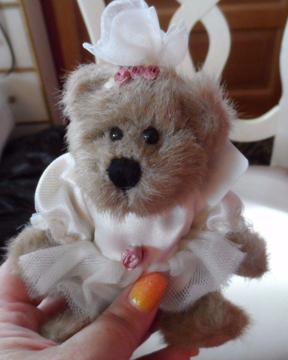 "Boyds bear 5.5"" Brianna Tippeetoes ballerina bear"