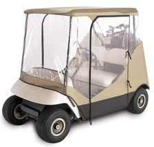 Golf Cart Rain Cover Enclosure For Club Car 2 Person Rugged Weather-Prot... - $3.933,62 MXN