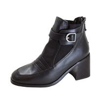 PEERAGE Orla Women's Wide Width Leather Dress Ankle Boots - $44.95