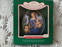 Hallmark Lorenzo Di Cridi Madonna and Child with the Infant St.John Orna... - $9.69