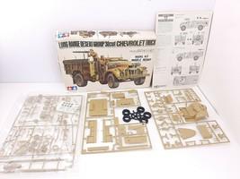 TAMIYA  #MM192 1/35 LONG RANGE DESERT GROUP/30cwt CHEVROLET TRUCK  OPEN BOX - $31.36