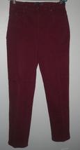 Gloria Vanderbilt Stretch Burgundy Jeans Sz 10 - $11.00
