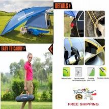 MultiFuction Camping-Beach Waterproof BLUE Canopy/Sun Shelter /Sedan SUV... - $146.06
