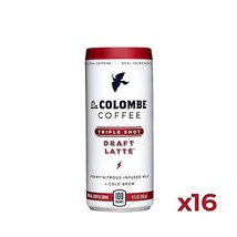 La Colombe Triple Draft Latte - 9 Fluid Ounce, 16 Count - 3 Shots Of Cold-Presse