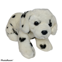 "Aurora White Dalmatian Puppy Dog Plush Stuffed Animal 2017 12"" - $26.42"