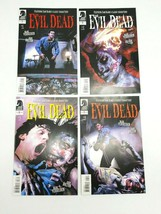 Evil Dead 1 2 3 4 Complete Set 1-4  Dark Horse Comic Book Lot January 2008 - $75.46