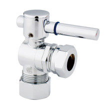"""Fauceture  5/8"""" O.D. Compression, 1/2"""" or 7/16"""""""" Slip Joint Angle Valve, Chrome - $27.77"""