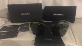 NIB Dolce & Gabanna Women's Lace Retro Acetate Frame Sunglasses Made In ... - $107.53