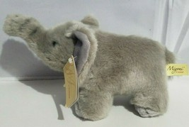 "Aurora Miyoni Plush African Elephant Stuffed Animal Gray 11"" New - $14.54"