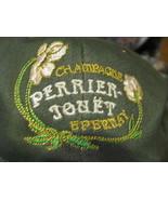 VTG Baseball Cap PERRIER JOULET Chamagne epernay Jouet trucker hat - $29.65