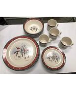 Royal Seasons Stoneware 16-PC Piece Dinnerware Dishes Set - $98.99