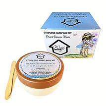 Wax at Home Microwavable White Tea Stripless Wax Kit 8.45 Oz. by Wax Necessities image 10