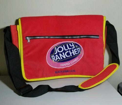 NEW! Jolly Rancher Watermelon Messenger Bag