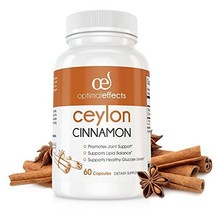 Organic Ceylon Cinnamon Supplement by Optimal Effects - Promotes Heart H... - $15.97