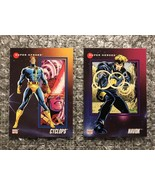 Cyclops & Havok - 1992 Impel Marvel Universe Series 3 Trading Cards Lot - $3.92