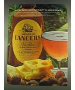 1978 Lancers Vin Rose Wine Ad - Brings Out the Beauty - $14.99