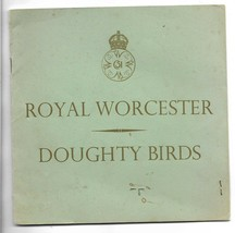 Story of Royal Worcester Doughty Birds Booklet + Invite to 1st Exhibitio... - $10.00