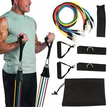 11 In Kit Upgrade Resistance Bands Set Loop Bands Powerful Effective For... - $17.15+