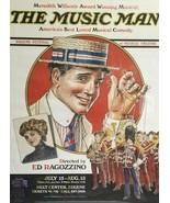 Eugene Oregon HULT Center THE MUSIC MAN Poster FESTIVAL OF MUSICAL THEAT... - $29.99
