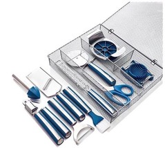 Wolfgang Puck 11 PIECE ULTIMATE KITCHEN TOOL SET BLUE NEW - €36,76 EUR