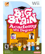 Big Brain Academy Wii Degree NINTENDO Wii Video Game - $3.97