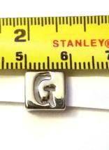 Alphabet Metal Ribbon Slip Bead For Bracelet, Necklace, Crafts image 5