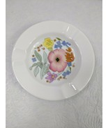 """4 1/2"""" Wedgwood Ashtray in Meadow Sweet Fine Bone China Floral Design - $14.85"""
