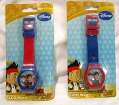 Set of Disney Paw Patrol LCD Watch Boys Girls Wristwatch LCD Digital Wat... - $29.69
