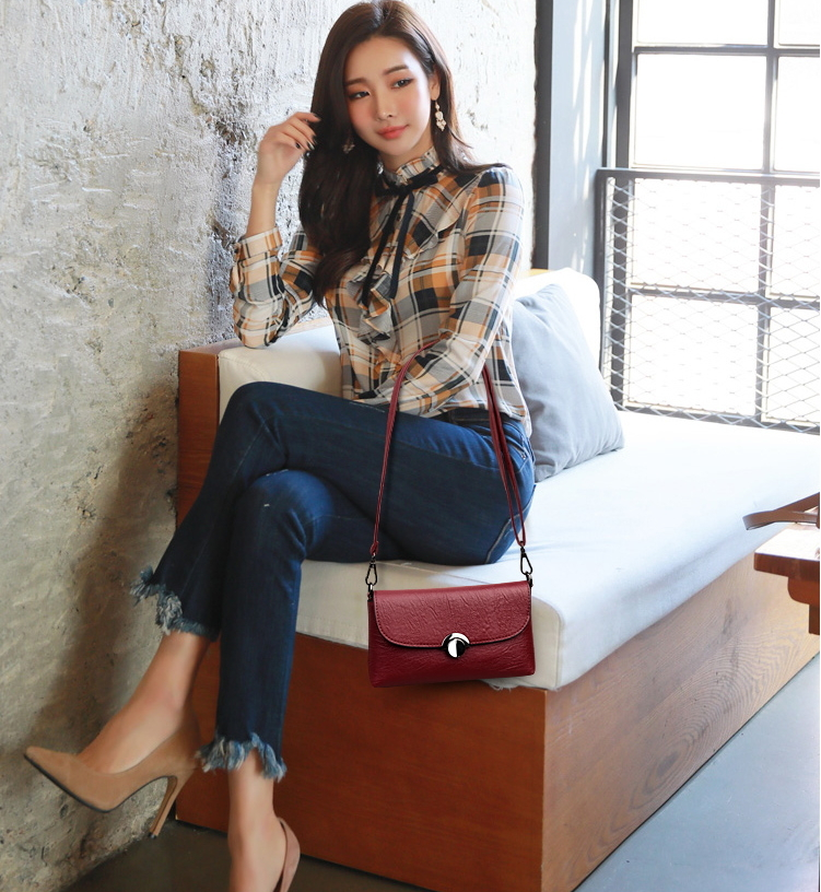 ITCQUALITY WOMEN  LUXURY PLAID CLUTCHES HANDBAGS CROSSBODY SHOULDER BAGS ITC1367