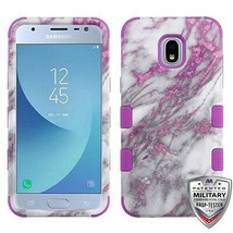 Pink Marbling TUFF Hybrid Case Cover for SAMSUNG Galaxy J3 V 2018/Star/A... - $13.39