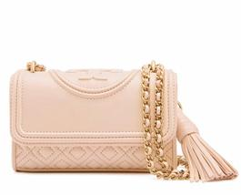 Authentic Tory Burch Fleming Micro Shoulder Bag - $221.00