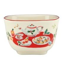 Lenox Holiday Inspirations & Illustrations Nut Bowl Cupcakes and Tea *NIB* - $22.22