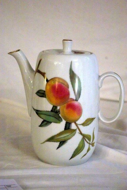 Royal Worcester 2015 Evesham Gold 5 Cup Coffee Pot