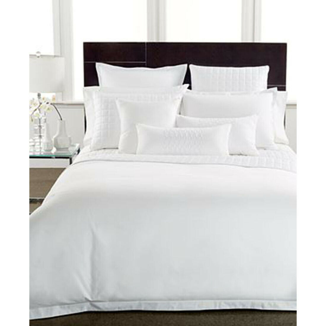 Hotel Collection 600 Thread Count Cotton King Sham, White