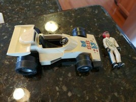 Vintage 1975 Fisher-Price Adventure People Indy Race Car #88 w/ Figure #308 - $23.05
