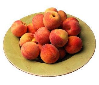 Orangic 16 Seeds Peaches Pink Flower Sweet Peach Fruit Tree Seeds image 4