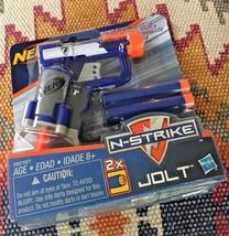 Nerf N-Strike Nstrike Jolt Elite Jolt Blaster Blue - $6.88