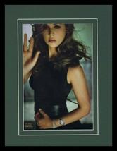 Eliza Dushku Framed 11x14 Photo Display Dollhouse - $32.36