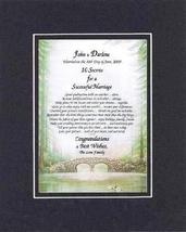 Personalized Touching and Heartfelt Poem for Wedding - 10 Secrets for a Successf - $22.72