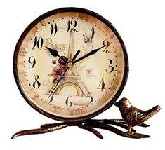 Black Temptation Classic European Style Mute Desktop&Mantle Clock Home D... - £37.08 GBP
