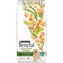 Purina Beneful Healthy Weight Dry Dog Food, Healthy Weight With Real Chi... - $13.14