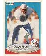 1990 Fleer #132 Johnny Meads - $0.50