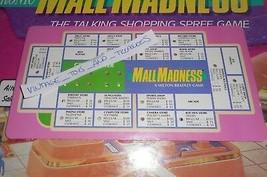 Vintage 1989 Mall Wahnsinn Shopping Mall Brettspiel Ersatzteil Grün - $7.34
