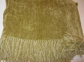 Churchill Weavers Chamois Palm Green Chenille T... - $664.95